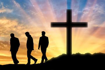 Three men Atheists