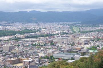 Cityscape, Kyoto, Japan