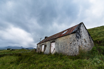 Häusschen auf der Isle of Skye, Schottland