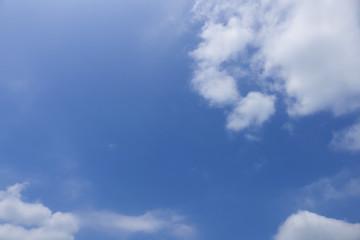 背景用 青空と雲 夏空