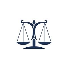 Scale of Justice Logo Template