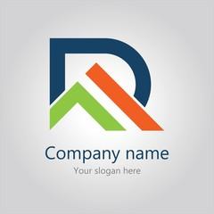 home letter R logo