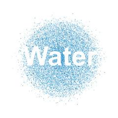 water spray background