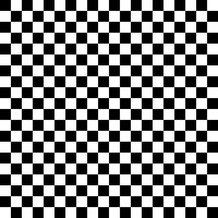 Black pattern chessboard - vector illustration.