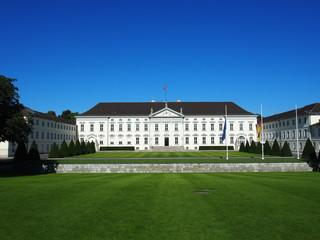 Berlin: Schloss Bellevue, Amtssitz des Bundespräsidenten, Deutschland