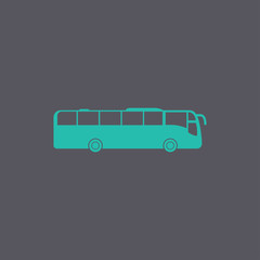 Bus Icon. Vector concept illustration for design