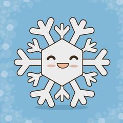 snowflake character  icon