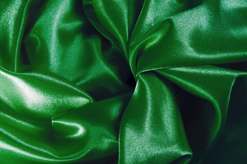 Texture of the satin fabric