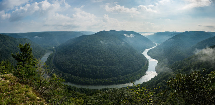 Grand View or Grandview in New River Gorge