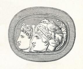 Berlin cameo (from Meyers Lexikon, 1895, 7/286-7)
