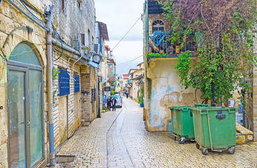 The old street of Safed