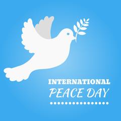 International Peace Day eps 10 vector