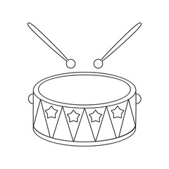 Drum line icon. Illustration for web and mobile design.