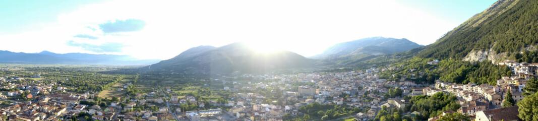 celano panoramic view