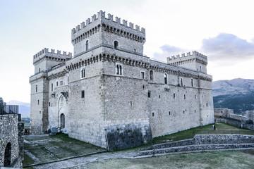 celano castle in abruzzo italy