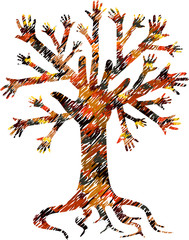Hand's tree series
