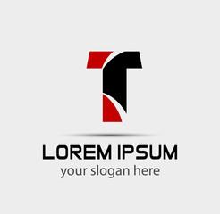 T company vector logo and symbol Design