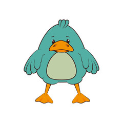 duck animal cartoon