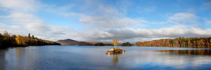 Tupper Lake In Autumn