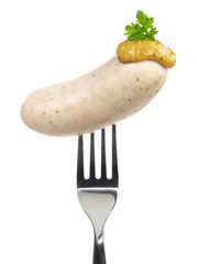 Weißwurst mit Senf