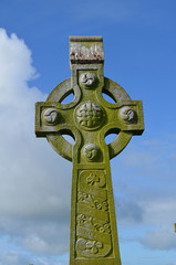 Beautiful Celtic Cross in Ireland