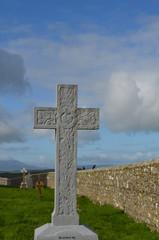 Stone Memorial Cross at Rock of Cashel
