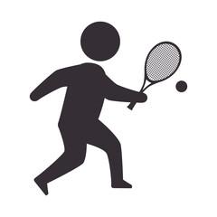 player man tennis
