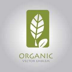 vector abstract organic emblem
