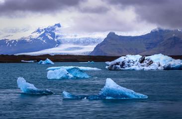 Printed kitchen splashbacks Glaciers Glacial Lagoon, Iceland