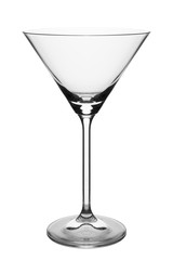 glass isolated over white