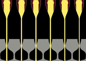 Background Bottle Ilustration