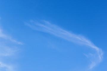 Foto del cielo con nuvole sfumate