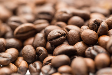 coffee beans as a background