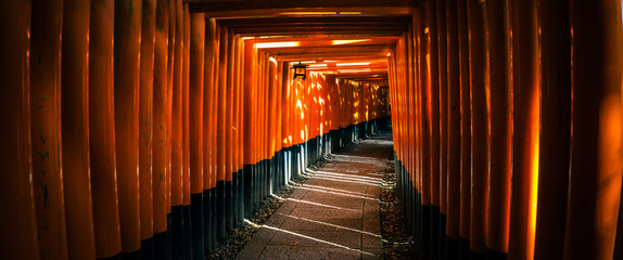 Printed kitchen splashbacks Japan Fushimi Inari Taisha Shrine in Kyoto