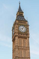 Dusk on the Big Ben in London, UK