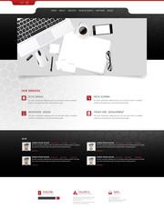 Website Design for Your Business, Vector Design.