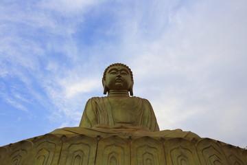 Buddha statue on Mount Popa in Bagan, Myanmar