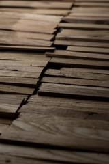 Bacchette in legno.
