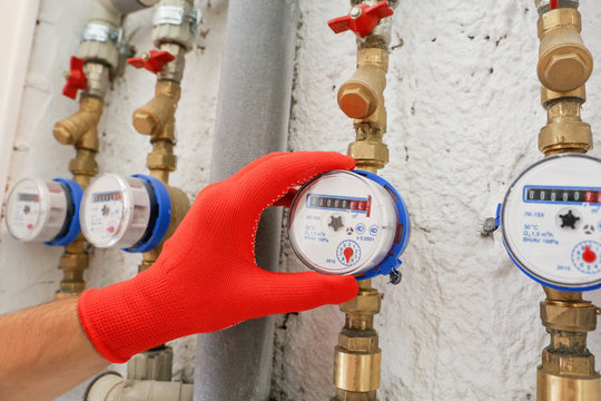 readings of water meters