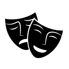 Mask vector icon.