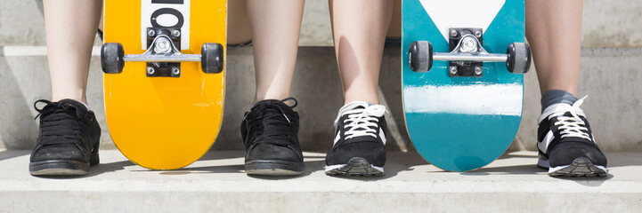 Dream team - me and my skateboard