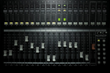 Studio Equalizer Control Panel