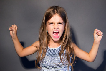 anger girl