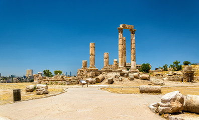 Temple of Hercules at the Amman Citadel, Jabal al-Qal'a