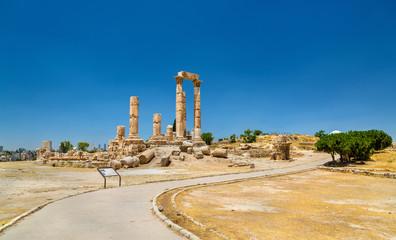 Temple of Hercules at the Amman Citadel, Jabal al-Qal'a