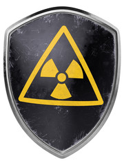 Nuclear Shield - 3D Illustration