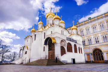 Annunciation Cathedral of Moscow Kremlin, Russia