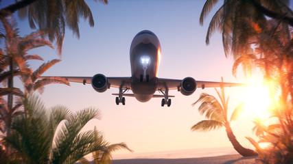 Flight into Vacation Wall mural
