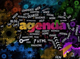 Agenda, Internet, Background