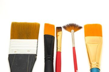 Paint brush flat type